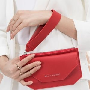 *HP* Red Convertible wristlet/crossbody purse